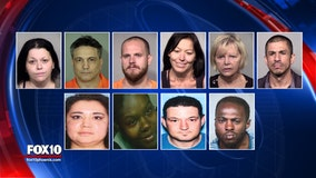 11 accused of stealing IDs to fake opioid prescriptions; four still on the run