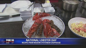 MODERN Oysterbar Chophouse's National Lobster Day