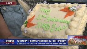 Cory's Corner: Schnepf Farms Pumpkin and Chili Party
