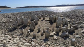 Drought conditions reveal ancient 'Spanish Stonehenge' along reservoir in Spain