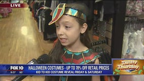 Thrifty Thursday: Discounted Halloween costumes at Phoenix second-hand store
