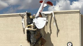 FD: Small plane crashes into building at Ak-Chin Regional Airport near Maricopa, 2 injured