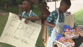Boy donates savings for Disney trip to Hurricane Dorian evacuees: 'I wanted them to have some food to eat'