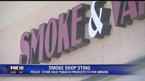 "Police: Smoke shop sold tobacco products to minors; owner said probe ""blown out of proportion"""