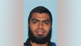 Islamic State follower seeks lower bond in officer assault