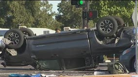 Man allegedly driving impaired causes 5-car crash in Gilbert
