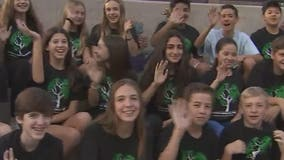 Scottsdale students sell T-shirts to raise money to help send African students on field trip