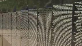 Replica of Vietnam Veterans Memorial Wall on display in Peoria