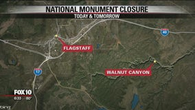 Walnut Canyon monument closed during helicopter operations