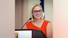 Sen. Kyrsten Sinema voted to approve both articles of impeachment against President Trump