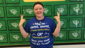 Student punished over anti-discrimination shirt that school says broke dress code