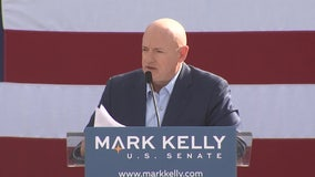 Senator-Elect Mark Kelly speaks as he prepares to work as Arizona's senator
