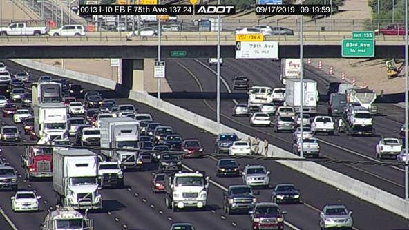DPS: Wrong-way vehicle stopped on I-10 near 75th Ave.