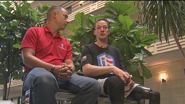 Army veteran given all-terrain wheelchair from Florida Georgia Line