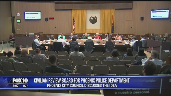 Phoenix City Council discusses police oversight options