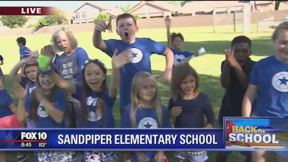 Cory's Corner: Sandpiper Elementary School