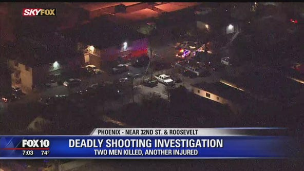 Phoenix police: 2 men found fatally shot, teen wounded