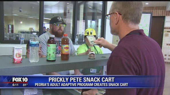 Community Cares: Prickly Pete Snack Cart