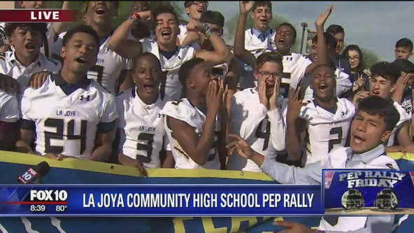 Pep Rally Friday: La Joya Community High School
