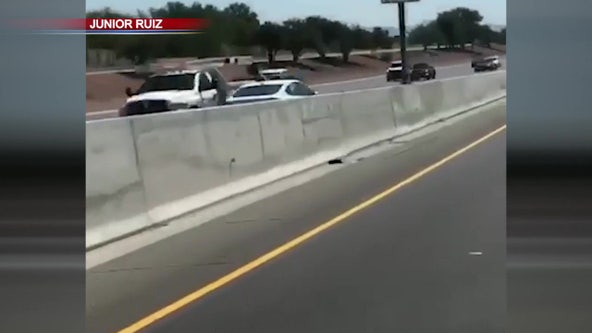 DPS: Husband and wife help DPS troopers get wrong-way driver off a West Valley freeway