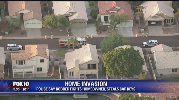 Police looking for Glendale home invasion suspect