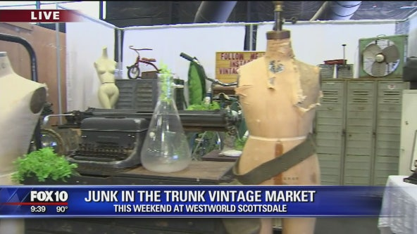 Find all things 'chippy, rusty, vintage and handmade' at Junk in the Trunk