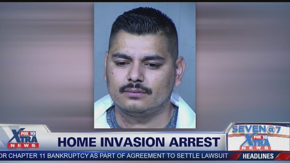Tolleson man accused of holding woman, baby at gun point during home invasion
