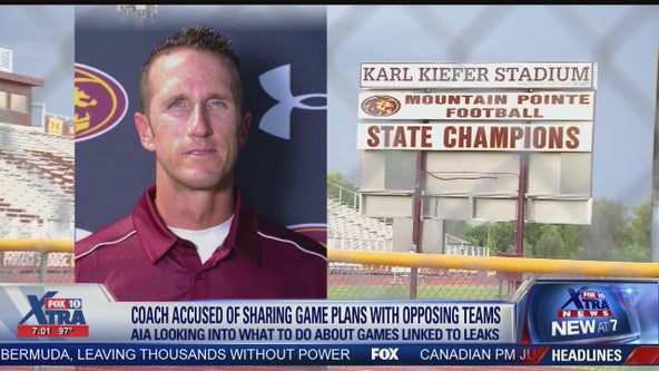 What will happen to the games linked to leaks from the Mountain Pointe sports coach scandal?