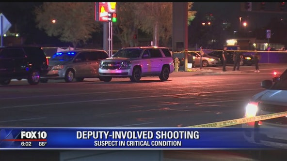 MCSO: Suspect critical following deputy-involved shooting near 48th St and Broadway