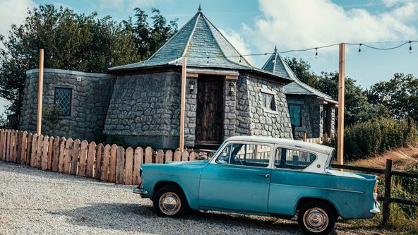 Calling all wizards: 'Harry Potter' fans can win a magical stay at this Hagrid-inspired hut