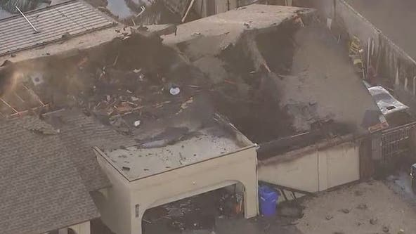 Fire destroys home in Chandler