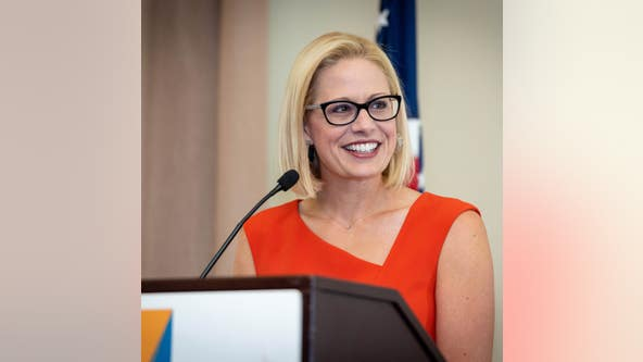 Arizona Sen. Kyrsten Sinema opposes vote to advance Amy Coney Barrett's Supreme Court nomination