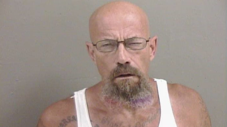 Illinois police looking for 'Walter White' look-alike wanted in relation to meth possession