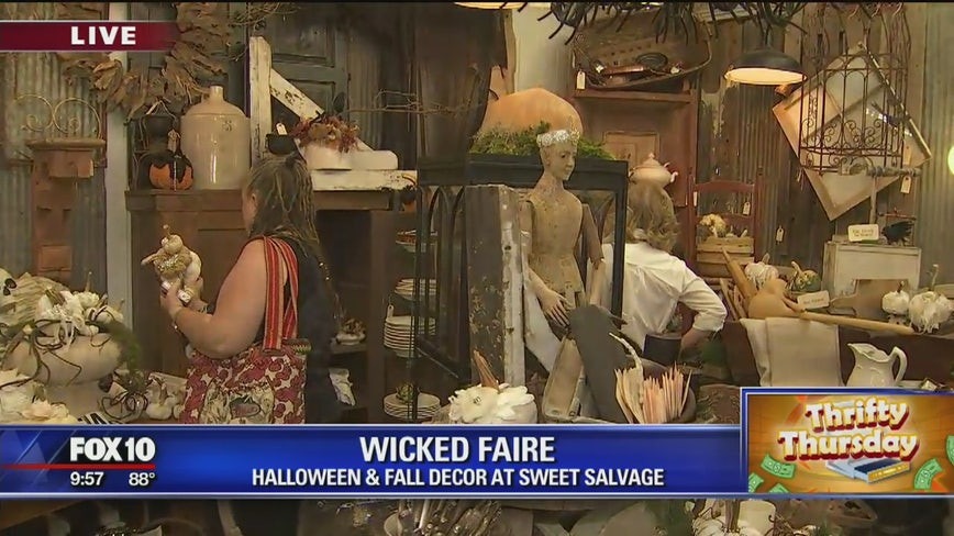 Thrifty Thursday: Halloween, fall decor at Sweet Salvage