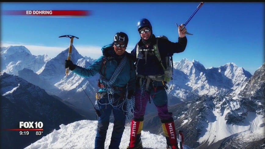 New procedure to treat heart condition allowed Valley man to conquer Mount Everest