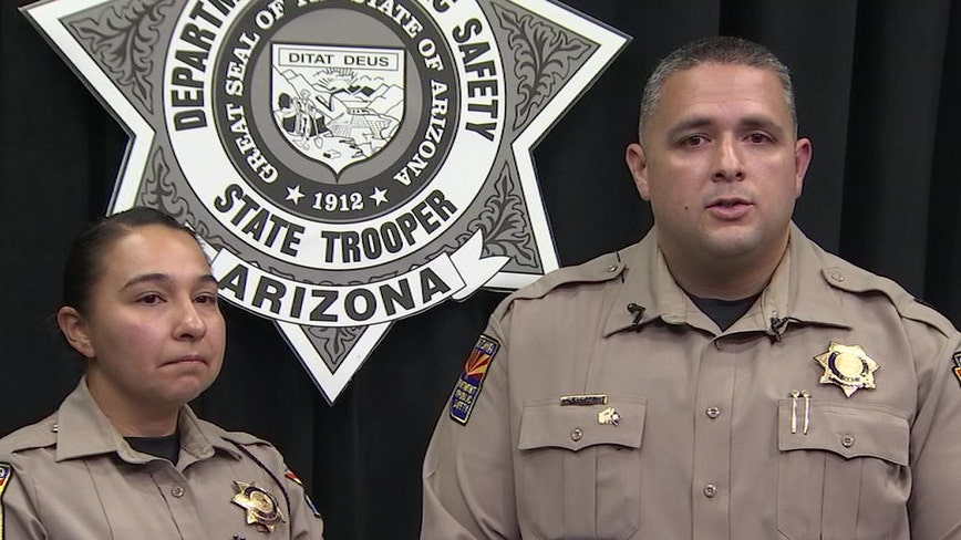 Husband and wife DPS troopers speak out after they stopped wrong-way driver while off-duty