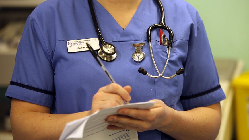 Nurses staging 1-day strike at 12 hospitals in 3 states