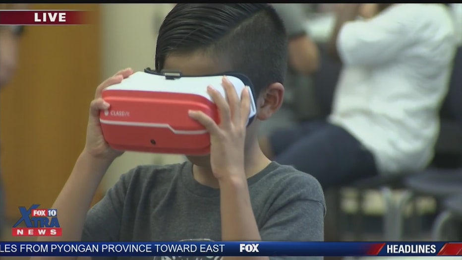 Kids in East Valley school use 3D printers, virtual reality