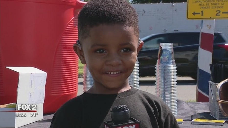 4-year-old with hearing disorder is CEO of popular lemonade