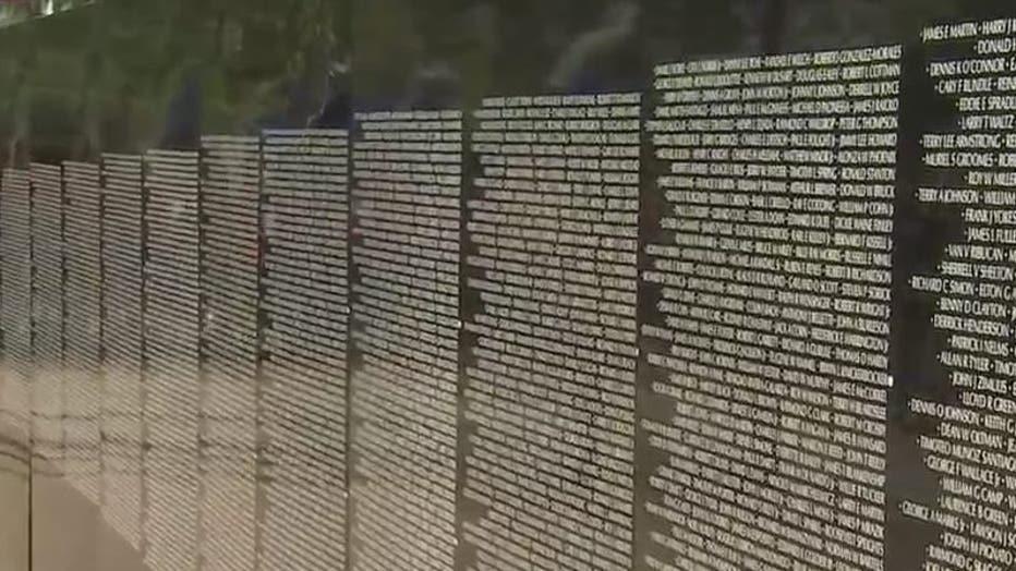 Replica Of Vietnam Veterans Memorial Wall On Display In Peoria