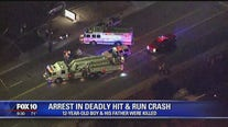 Chandler Police: Father and son killed in hit and run, driver arrested