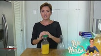 Life Hacks on how to not waste juice