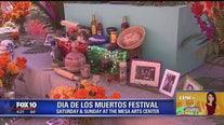 Olmost The Weekend: Mesa Arts Center gets ready for Dia De Los Muertos Festival