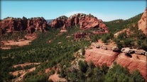 Drone Zone: Merry-Go-Round Rock in Sedona is a hot spot for weddings
