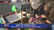 Cory's Corner: Kids toy testing event in Scottsdale