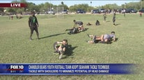 Chandler Bears Youth Football team adopts Seahawks tackle technique