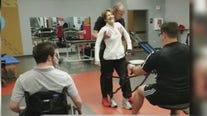 Paralyzed ASU graduate creates tool to help with physical therapy