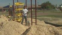 Phoenix elementary school's playground gets makeover thanks to Fiesta Bowl Charities