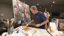 'Tribute to America's Warriors': Portraits of post-9/11 veterans painted by George W. Bush on display