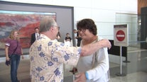 Brother, sister reunited by DNA test finally meet in person